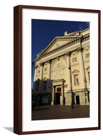 Poland, Warsaw, Saint Anne's Church, 18th Century--Framed Art Print