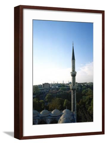 Blue Mosque, 17th Century, Istanbul, Turkey--Framed Art Print