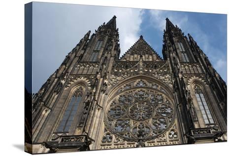 St. Vitus Cathedral, Prague, Czech Republic--Stretched Canvas Print