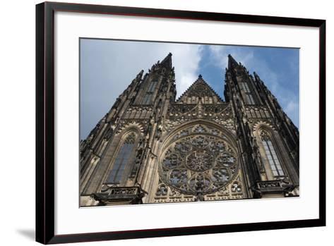 St. Vitus Cathedral, Prague, Czech Republic--Framed Art Print