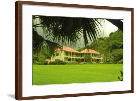 Villa Vailima, Apia, Samoa--Framed Art Print