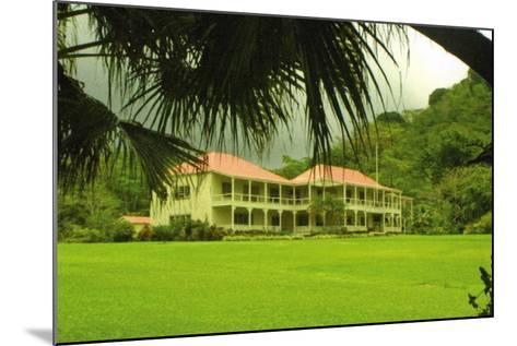 Villa Vailima, Apia, Samoa--Mounted Photographic Print
