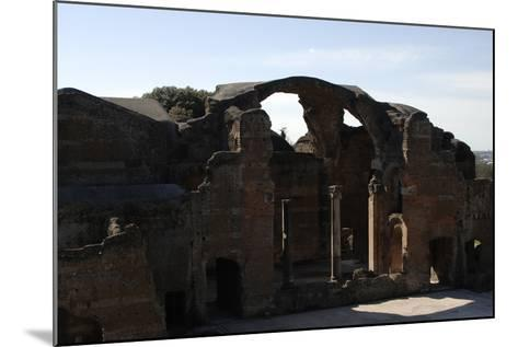Hadrian's Villa, 2nd Century, Great Baths, Italy--Mounted Photographic Print
