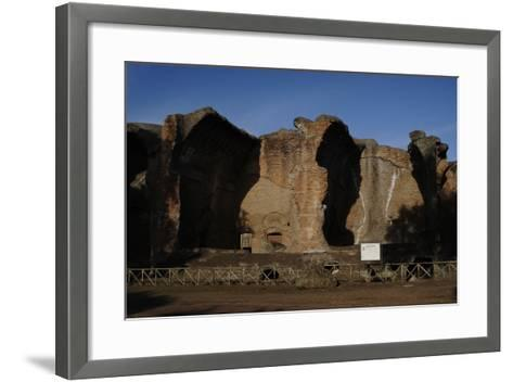 Hadrian's Villa, 2nd Century, Great Baths, Italy--Framed Art Print
