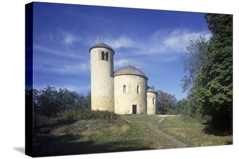 Rotunda of St. George at Rip Hill, Bohemia, Czech Republic--Stretched Canvas Print
