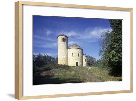Rotunda of St. George at Rip Hill, Bohemia, Czech Republic--Framed Art Print