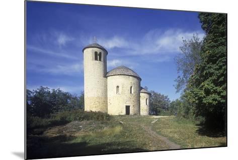 Rotunda of St. George at Rip Hill, Bohemia, Czech Republic--Mounted Photographic Print
