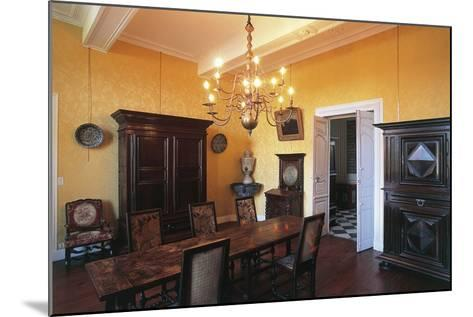 Room in Castle of Gelos, Aquitaine, France--Mounted Photographic Print