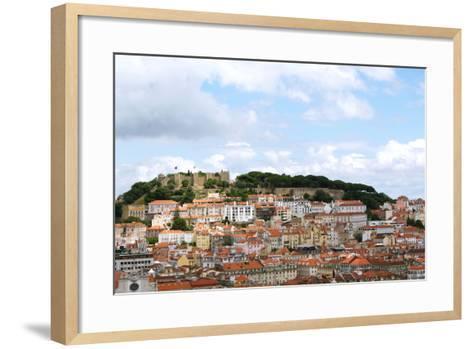 View of Lisbon, Portugal--Framed Art Print