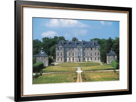 Chateau of Loyat, 18th Century, Brittany, France--Framed Art Print