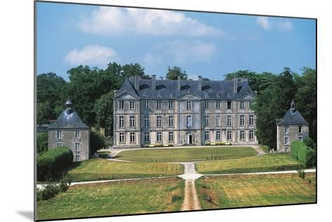 Chateau of Loyat, 18th Century, Brittany, France--Mounted Photographic Print
