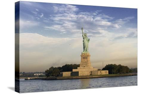 The Statue of Liberty, New York, USA--Stretched Canvas Print
