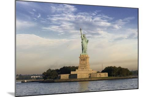 The Statue of Liberty, New York, USA--Mounted Photographic Print