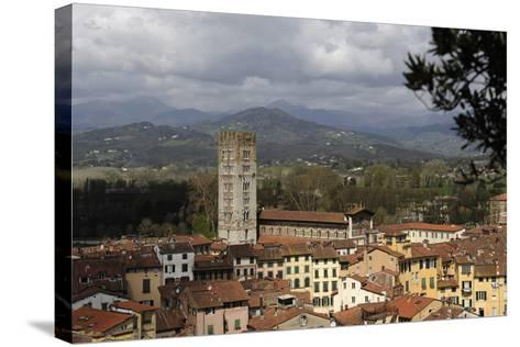 Italy, Lucca, Panorama--Stretched Canvas Print