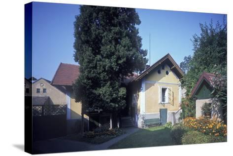 House of Josef Suk, Krecovice, Central Bohemia, Czech Republic--Stretched Canvas Print