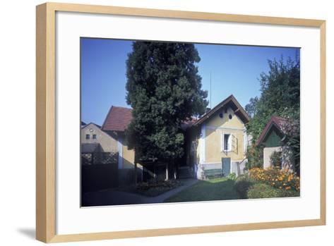 House of Josef Suk, Krecovice, Central Bohemia, Czech Republic--Framed Art Print