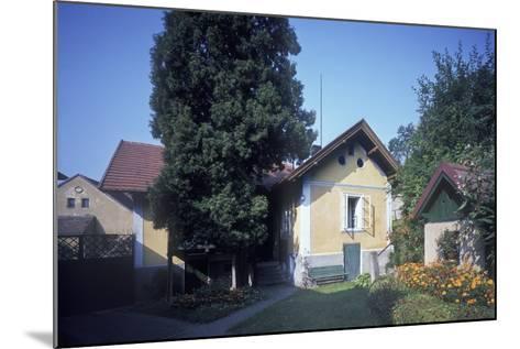 House of Josef Suk, Krecovice, Central Bohemia, Czech Republic--Mounted Photographic Print