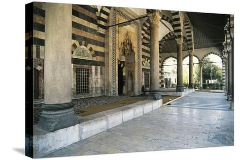 Mosque of Suleiman the Magnificent, Damascus, Syria--Stretched Canvas Print