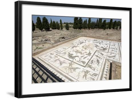 Roman City of Italica, House of Neptune, Spain--Framed Art Print