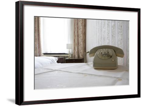 Telephone in a Room, Berlin, 2009--Framed Art Print