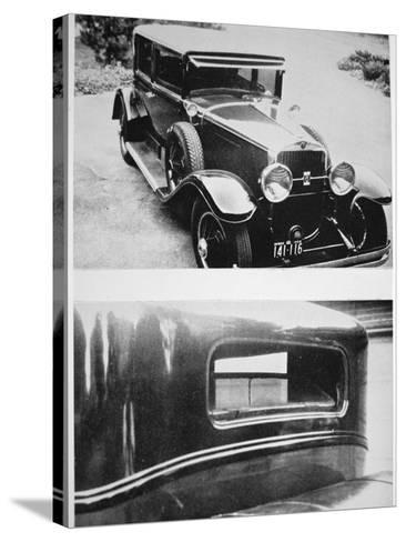 Al Capone's (1899-1947) Armoured Cadillac--Stretched Canvas Print