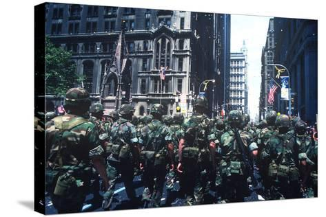 Iranian Hostages, Ticker Tape Parade, New York, New York--Stretched Canvas Print