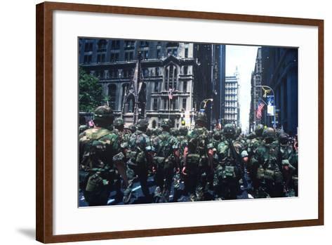 Iranian Hostages, Ticker Tape Parade, New York, New York--Framed Art Print