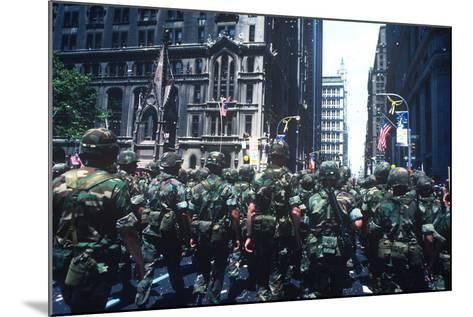 Iranian Hostages, Ticker Tape Parade, New York, New York--Mounted Photographic Print