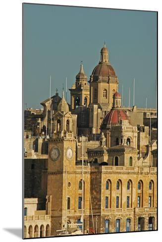Senglea Town from the Harbour, Valletta, Malta--Mounted Photographic Print