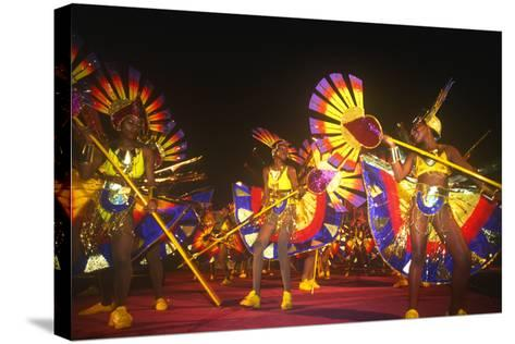 Carnival, Kingstown, St. Vincent, Caribbean--Stretched Canvas Print
