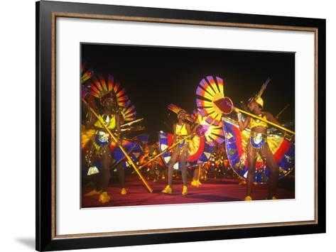 Carnival, Kingstown, St. Vincent, Caribbean--Framed Art Print