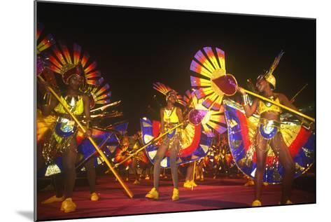 Carnival, Kingstown, St. Vincent, Caribbean--Mounted Photographic Print