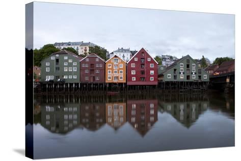 Nidelva River, Trondheim, Norway, 2010--Stretched Canvas Print