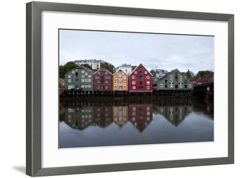 Nidelva River, Trondheim, Norway, 2010--Framed Art Print