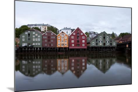 Nidelva River, Trondheim, Norway, 2010--Mounted Photographic Print