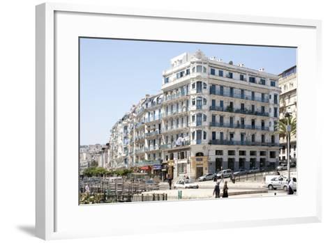 Haussmann Building in Algiers, Algeria--Framed Art Print