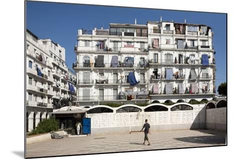 Haussmann Building in Algiers, Algeria--Mounted Photographic Print