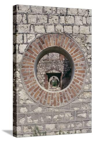 Detail of Colbeck Castle, Jamaica--Stretched Canvas Print