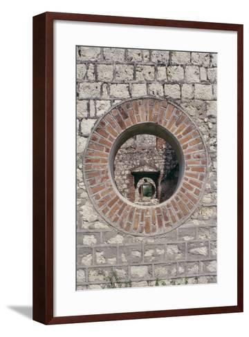Detail of Colbeck Castle, Jamaica--Framed Art Print