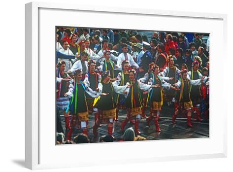 Parade, Moomba Festival, Melbourne, Victoria, Australia--Framed Art Print