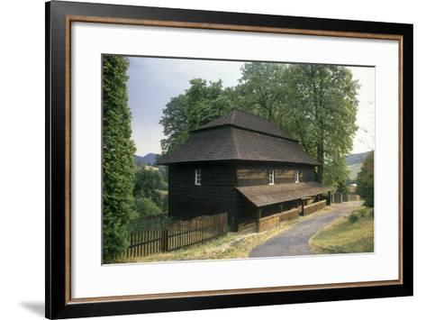 So-Called Toleration Church at Velka Lhota--Framed Art Print