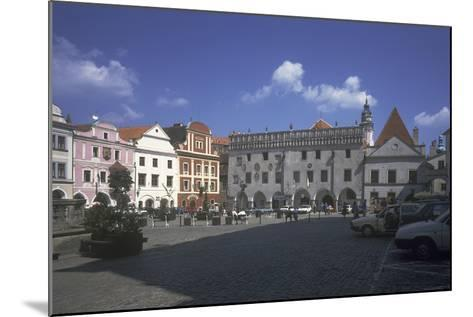 Main Square, ?esk? Krumlov, Czech Republic--Mounted Photographic Print