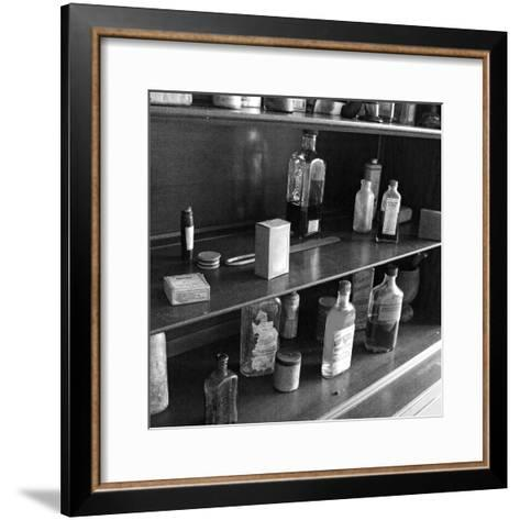 Fanny's Medicine Cabinet, Villa Vailima, Apia, Samoa--Framed Art Print
