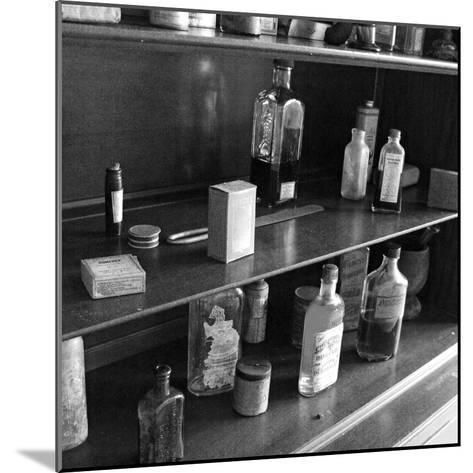Fanny's Medicine Cabinet, Villa Vailima, Apia, Samoa--Mounted Photographic Print