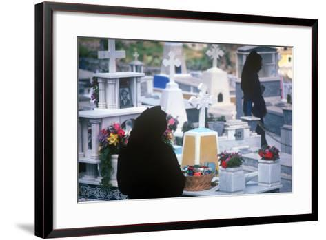 Easter Celebration, Olymbos, Karpathos, Greece--Framed Art Print