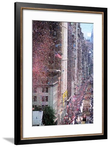 Ticker Tape Parade, New York, New York--Framed Art Print