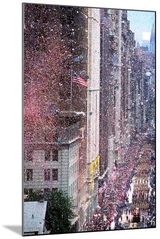 Ticker Tape Parade, New York, New York--Mounted Photographic Print