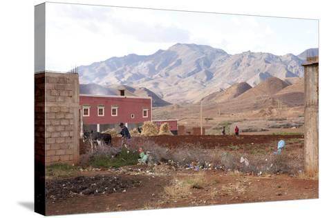 Djebel Siroua, Near Taliouine, Morocco--Stretched Canvas Print
