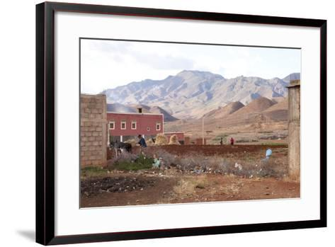 Djebel Siroua, Near Taliouine, Morocco--Framed Art Print
