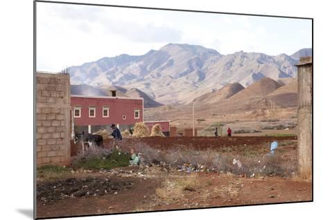 Djebel Siroua, Near Taliouine, Morocco--Mounted Photographic Print